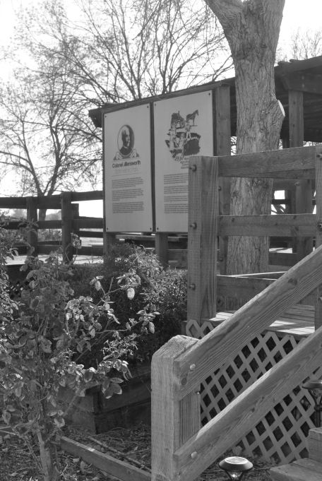 The visitors center located at Col. Allenswowrth State Historic Park Photo taken by Kdj LaMon while visiting.